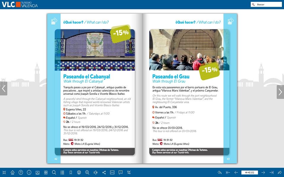 Paseando Cabanyal Valencia Tourist Card