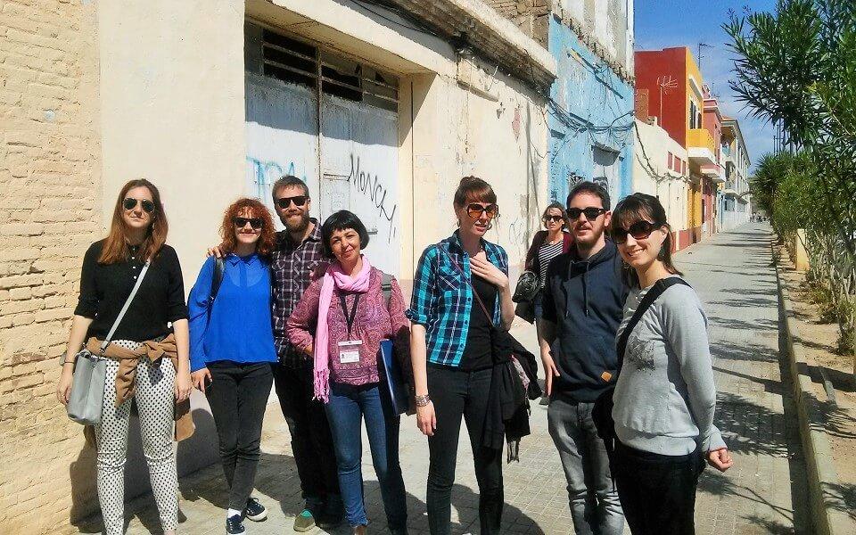 Paseando por los Poblados de la Mar. El Cabanyal. Valencia