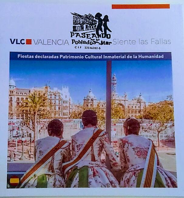 Visita Guiada Fallas. Los jueves por la mañana. 3 hrs. Conoce la historia de las fallas, indumentaria valenciana y mucho más. Incluye visita
