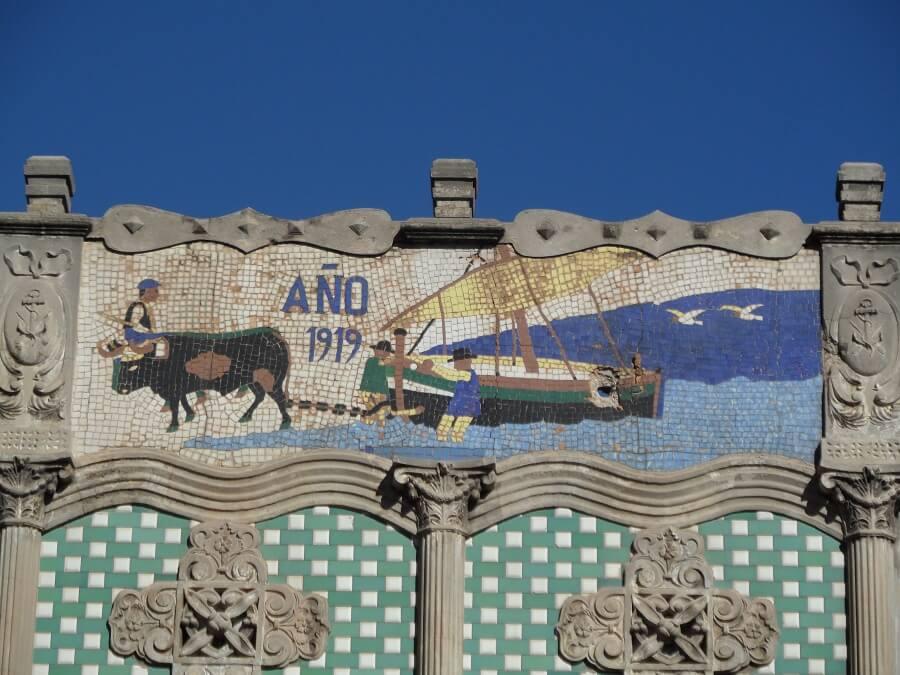 Sorolla La mar Modernismo Cabanyal visita guiada Paseando el Cabanyal www.pobladosdelamar.com