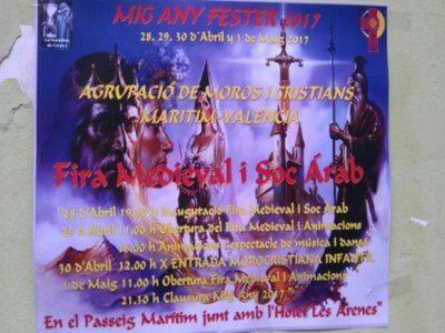 28-29-30abril y 1 mayo 2017 Mig Any moros i cristians maritim