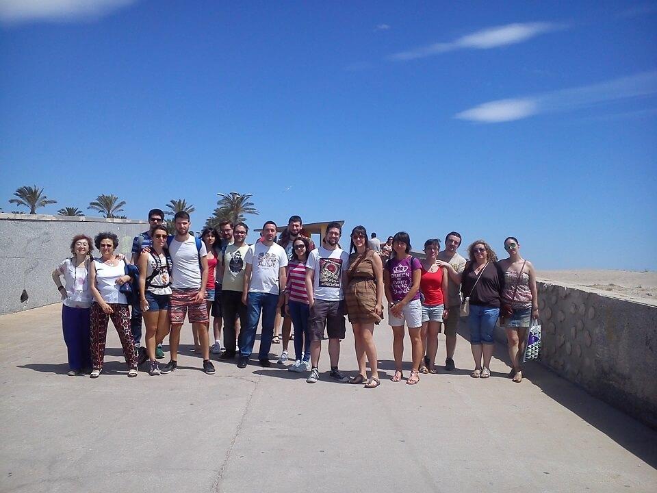 Playa de las Arenas, Casa-Museo Blasco Ibáñez, chalets de Malvarrosa