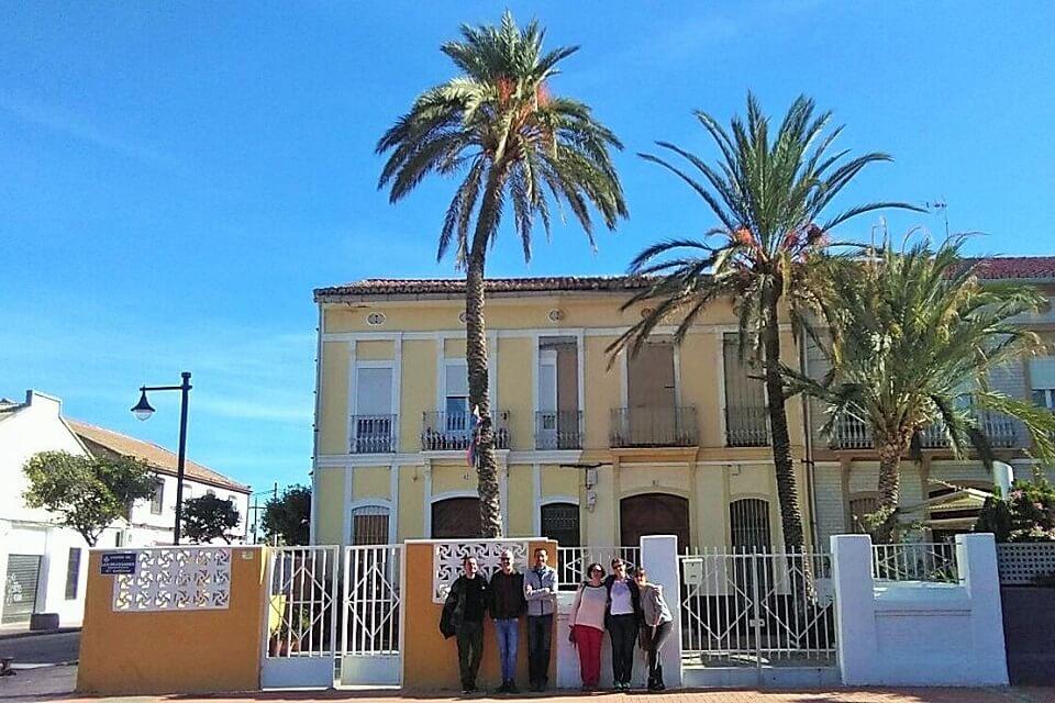 Paseantes Visitas Guiadas Cabanyal Valencia
