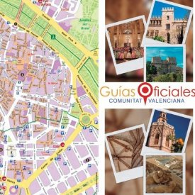 Mercado Central, Lonja,Plaza Redonda, Catedral, Basílica de la Virgen, Torres de Serranos