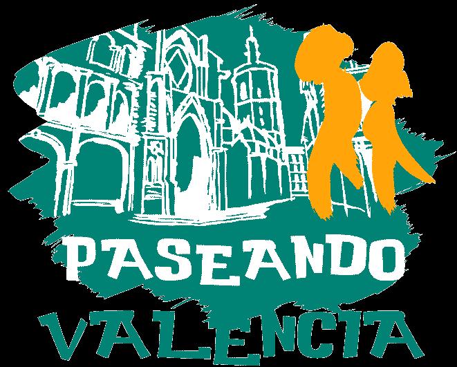 Logo de la empresa Paseando Valencia. Visitas guiadas en Valencia