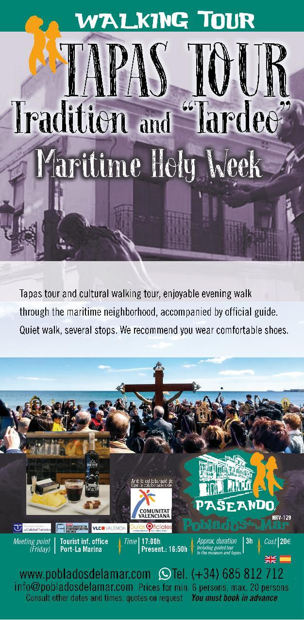 walking tour tapas tour tradition and tapeo maritime holy week