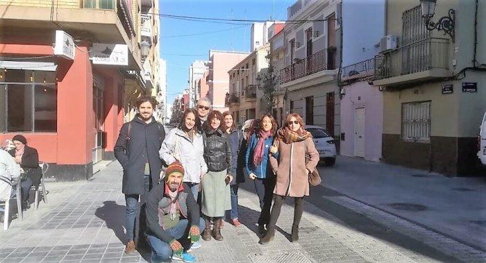Paseando Cabanyal. Visita Guiada Sorolla la mar Modernismo y Cabanyal www.pobladosdelamar.com