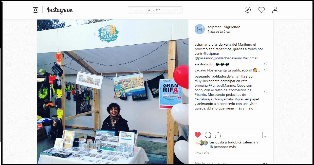 I Feria Maritimo ACIMPAR - Mercadillo Reyes Cabanyal.