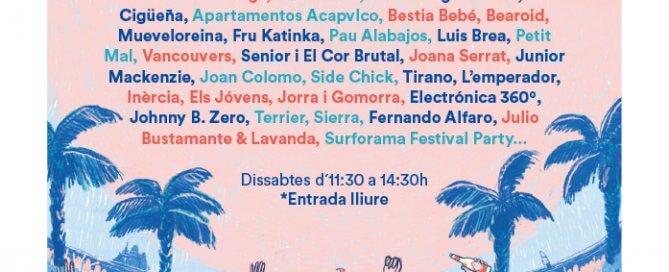 Conciertos La Pèrgola de Cervezas Alhambra a La Marina de València Horario: de 11:30 a 14:30 h. Febrero Sábado 2: Cuello • Saïm Sábado 9: Alberto Montero • Tuya • Gem Sábado 16: Modelo de Respuesta Polar • Tardor • Filipinxs Sábado 23: Cloud Nothings • Mad Robot