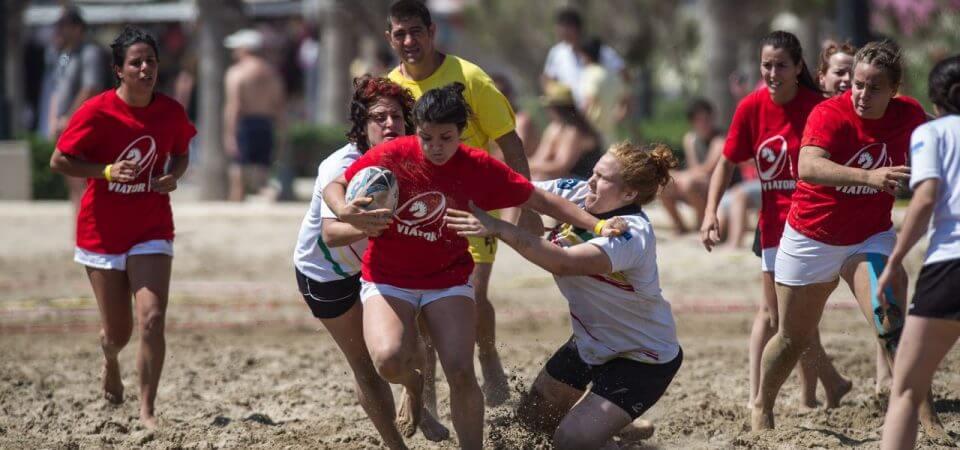 Torneo Internacional Rugby Playa el Cabanyal