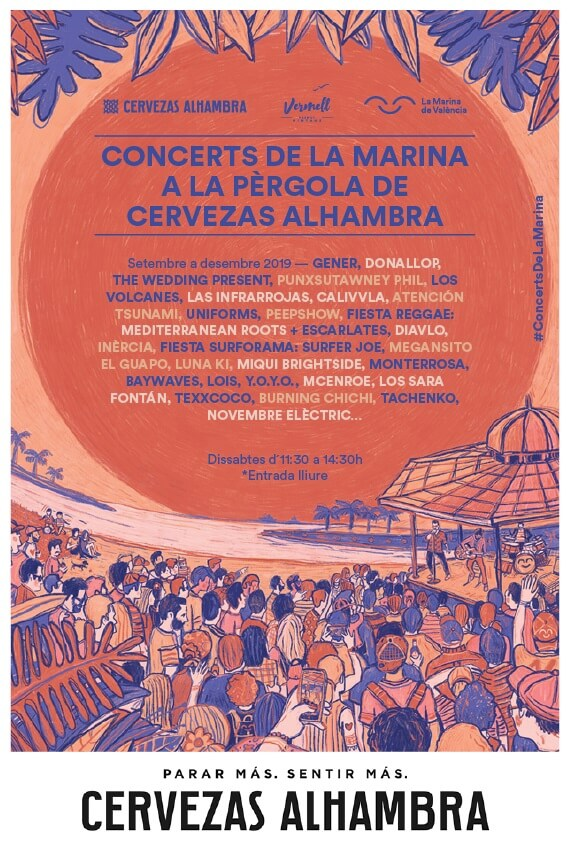 Conciertos Sábados en La Pérgola