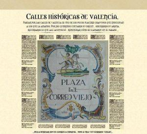 Historia de las calles de Valencia