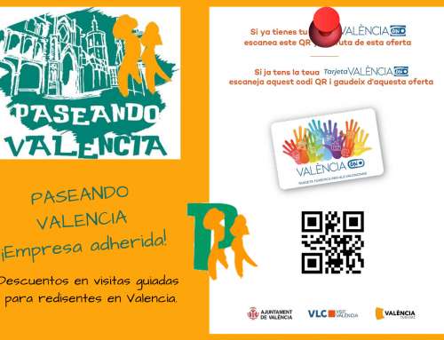 Paseando Valencia #TarjetaValènciaON