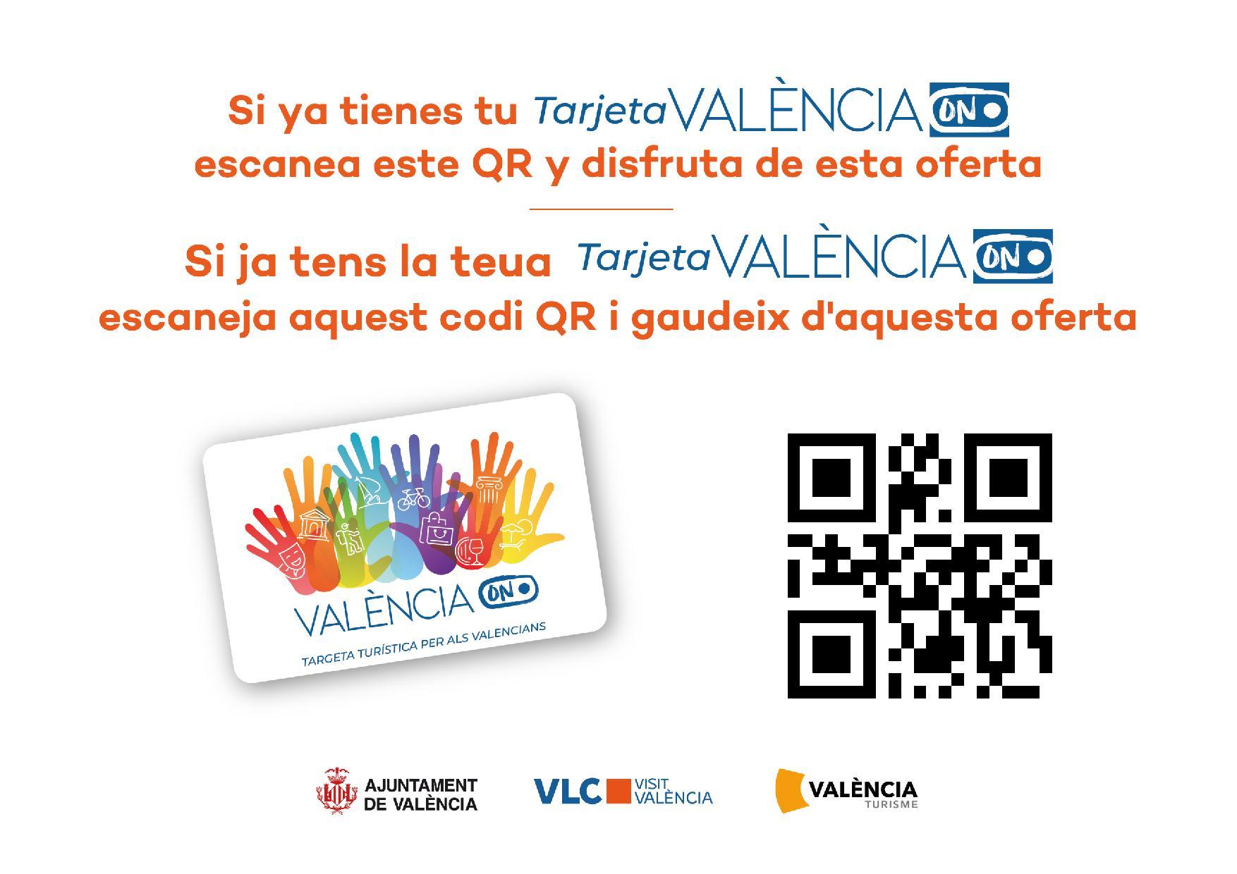 Ahora Visita Valencia-Paseando Valencia_TarjetaValenciaON